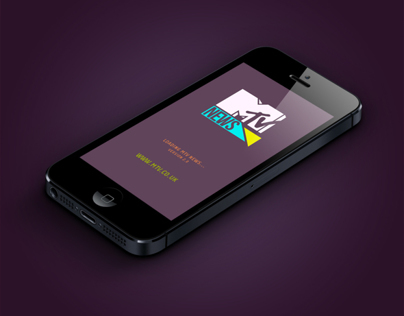 MTV News (UK) iPhone/iPod Application