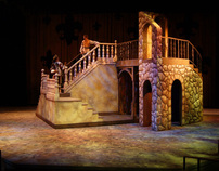 Scenic Design for The Three Musketeers