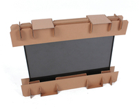 Corrugated Fiberboard Packaging for Flat-Panel TVs