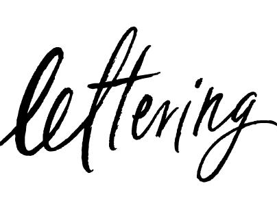 Script Logos & Lettering