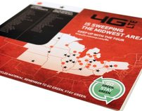 Verizon Wireless Midwest Area 4G LTE Mousepad