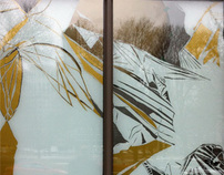 ghost birds in winter/ stantec window gallery