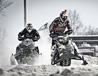Snowcross at Georgian Downs