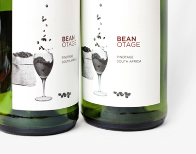 Beanotage Wine Label