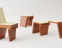 Moduline Chair - a piece of transformable furniture