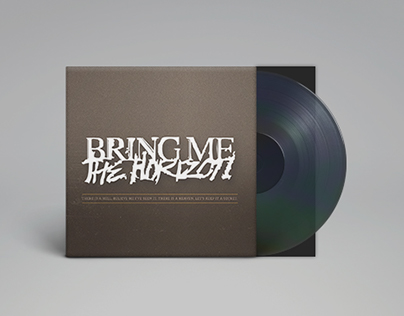 Bring Me The Horizon — CD Cover Art