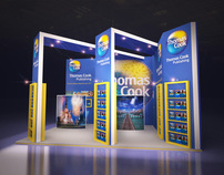 Thomas Cook Publishing - Exhibition Stand Design
