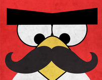 Angry Moustache Birds
