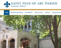 St. Joan of Arc Parish Website