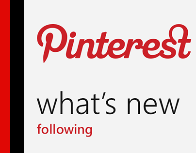 Pinterest for Windows Phone, II