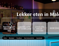 Joomla website. Case: Lekker Eten In Malden