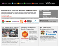 Vision Marketing Group Website
