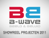 B-wave showreel projecten 2011