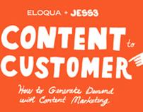 Eloqua: Content to Customer Presentation
