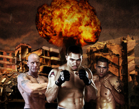 Judgement Day MMA fight poster for Hollywood Casino