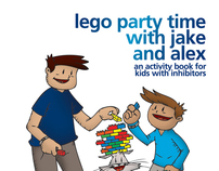 LEGO Party Time with Jake and Alex Childrens Book