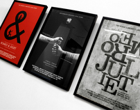 Romeo & Juliet Poster Designs