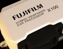 Fujifilm X100 - 3D reproduction