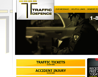 Traffic Defence: Mobile & UI designs