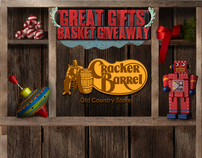 cracker barrel great gifts holiday sweepstakes