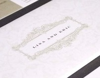 Lisa & Eric Wedding Invitations