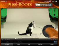 Puss in Boots – YouTube Campaign