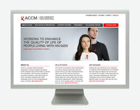 AIDS Community Care Montreal (ACCM) Website