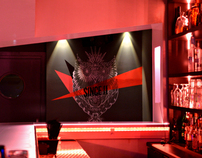 Sens club - Interior design