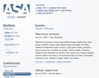 ASA Intranet Design