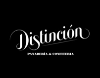 Distinción Logo and Packaging