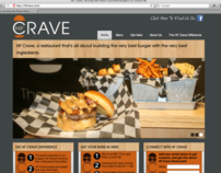 Burger Restaurant Website Design