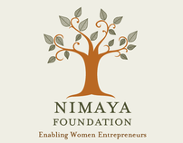 Nimaya Foundation: Logo and Stationery