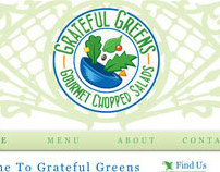 Grateful Greens Branding, Identity & Advertising