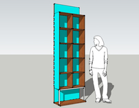The Face Bookshelf