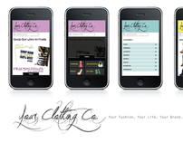 Your Clothing Co. - Mobile