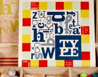 { TYPE } designers dream board game