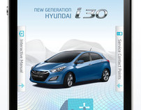 Hyundai i30 User Manual - Mobile App Project