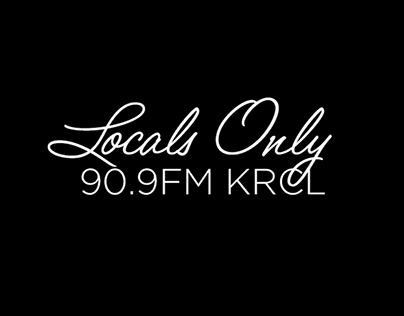 KRCL - Locals Only CD Artwork