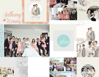 Wedding Day Album Design II, photo by GLOW