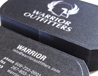 Warrior Outfitters Business Card