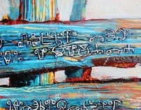 SIGNPOSTS  - painting