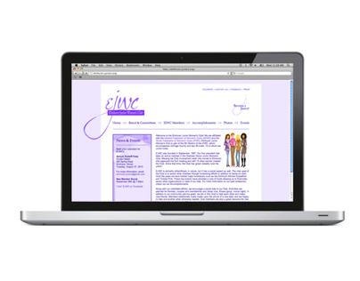 Elmhurst Junior Womens Club Website Re-Design