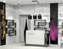 S&A group beauty salon interior design