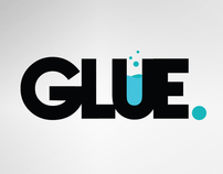 GLUE. - Production house - Logo / BusinessCard