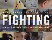 Fighting For - DVD insert
