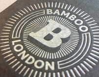 Bamboo London : Logo