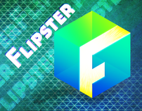 Logodesign for flipster, an Android Social Media App