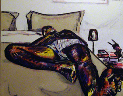 Sleeping man 2011