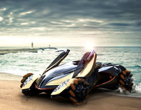 Dubai 2030 Amphibious Vehicle