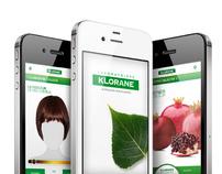KLORANE Application
